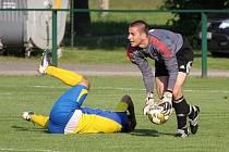 Stonavští fotbalisté doma s Bystřicí zakopli, i když nastříleli čtyři góly.