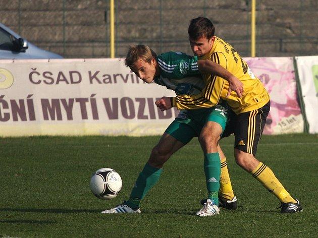 Poslední zápas Karviné v kalendářním roce 2013 nevyšel.