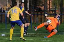 Bohumínští doma prohráli o tři góly.
