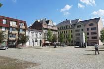 Bohumín-Starý Bohumín, náměstí Svobody.