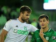 Dobrá zpráva: Tomáš Wágner (vlevo) je opět v sestavě MFK.