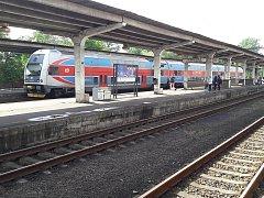 Vlakové nádraží v Karviné.