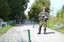 Cvičení Armády ČR a složek Integrovaného záchranného systému SAFEGUARD ALBRECHTICE 2013.
