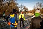 První Havířovský maraton. 27. prosince 2020 v Havířově.