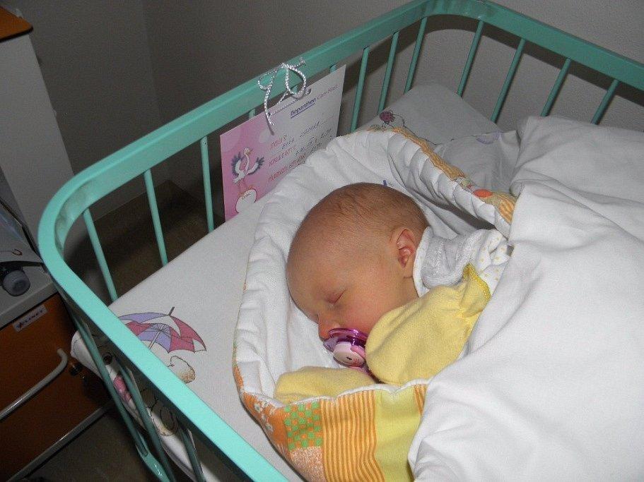 Bára Ligocká se narodila 4. října paní Kateřině Kotasové z Bohumína. Porodní váha miminka byla 2590 g a míra 48 cm.