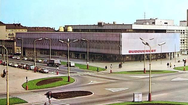Havířovský obchodní dům Budoucnost.