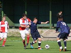 Orlovští fotbalisté svedli doma zajímavou přestřelku.