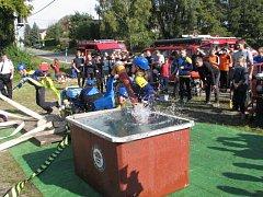 Tradiční soutěž mladých i dospělých dobrovolných hasičů pořádal SDH Havířov Město.
