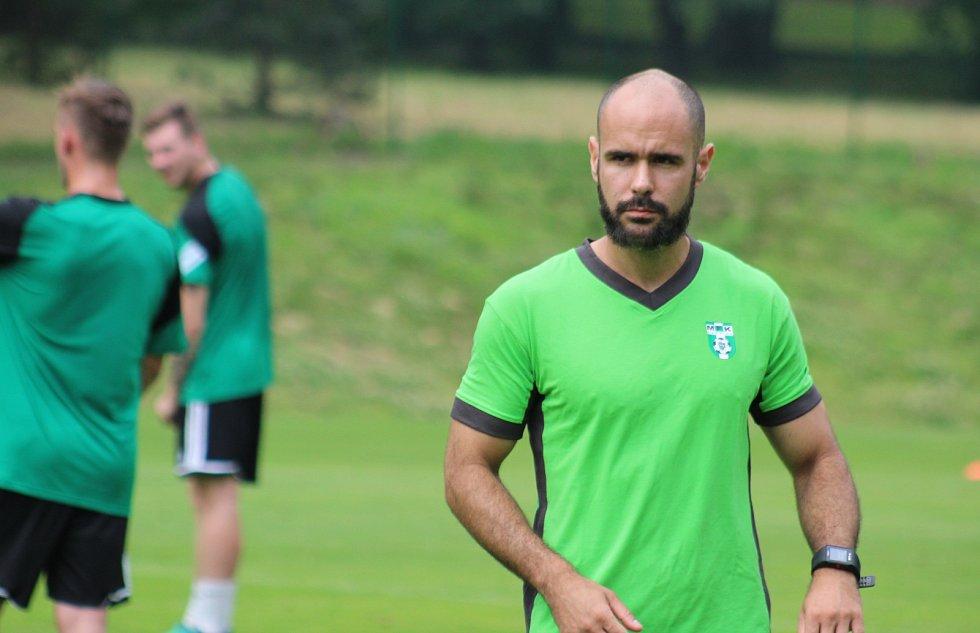 Novou tváří je i kondiční trenér Marek Chrobák.