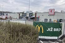 Havířovský McDonald's výrazně pokročil k otevření.