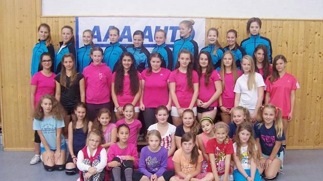 Děvčata z VK Karviná prodělala kvalitní přípravu na nový ročník.