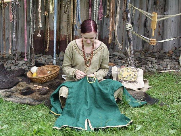Dozvědět se, jak vypadal život starých Slovanů se mohli dozvědět návštěvníci Archeoparku Podobora v Chotěbuzi.