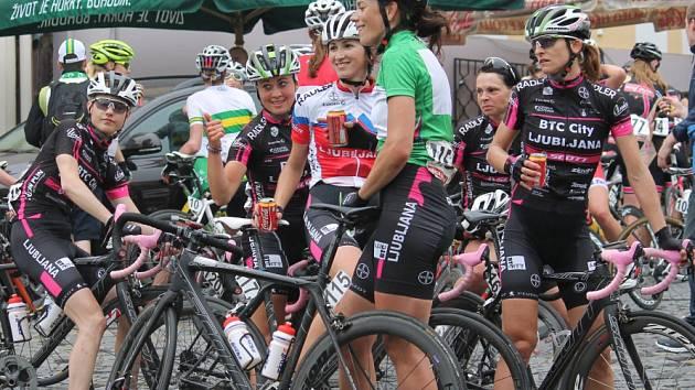 A Gracia Orlová 2015 - loni přálo cyklistkám počasí.