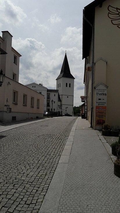 Katolická kostel Povýšení sv. Kříže v Karviné-Fryštátě.