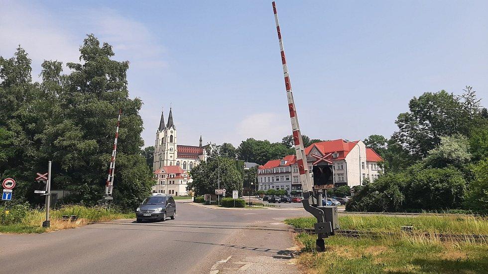Orlová-Město. Pohled na náměstí.