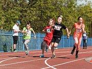 Děti soutěžily ve štafetovém poháru.