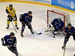 Havířov (v modrém) porazil doma Ústí nad Labem.