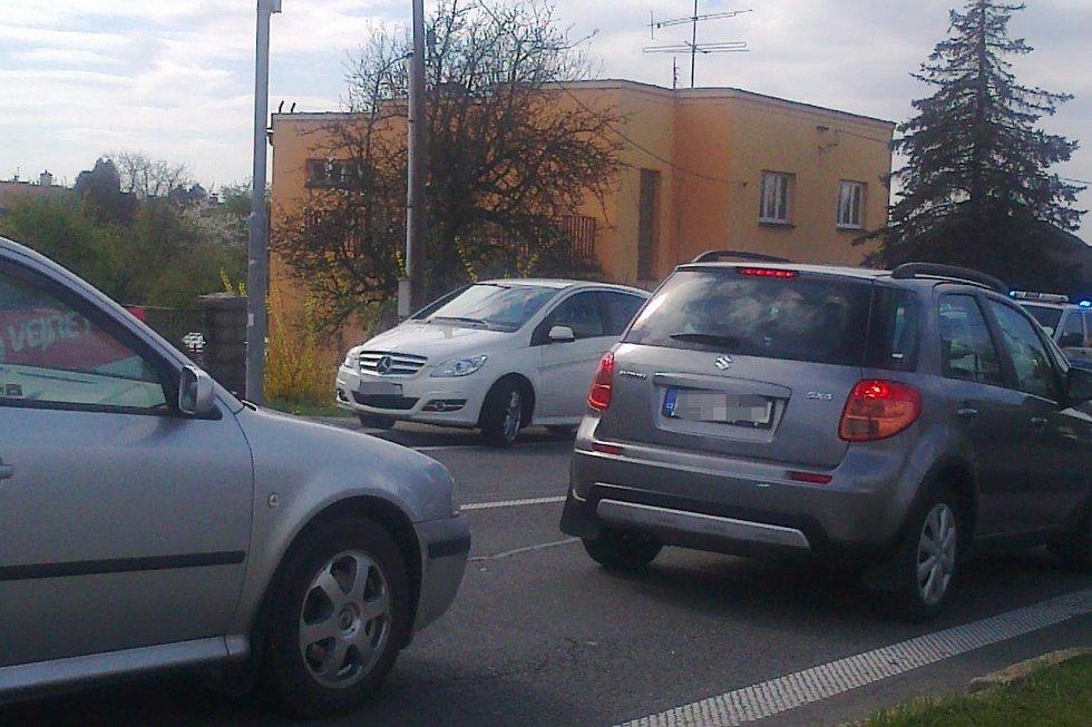 Zásah u nehody na Těšínské ulici v Havířově.