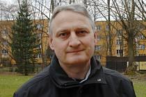 Kapitán Českého Těšína Václav Mitura.