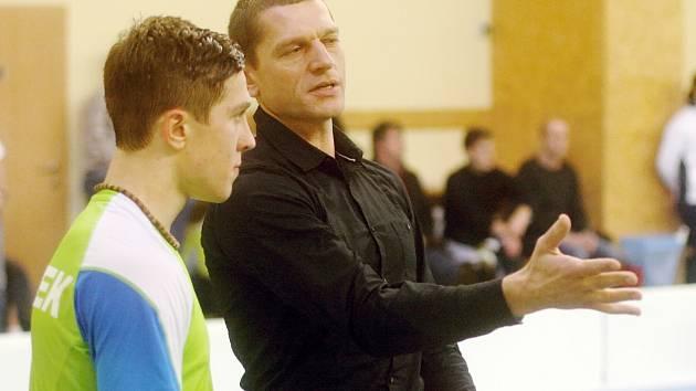 Tomasz Mendrek pracuje nyní se synem na poli psychologické přípravy.