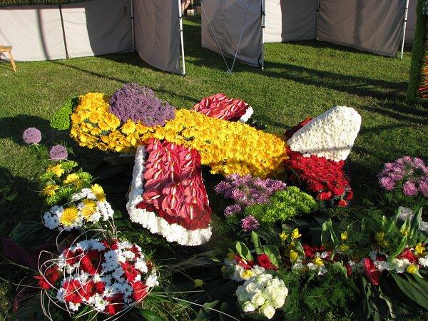 Havířov vkvětech, vítězné dílo vsoutěži floristů.