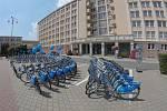 Bikesharing v Havířově.