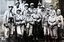 Fárání delegace závodu 5 z Třineckých železáren v září 1982 v rámci výměny zkušeností mezi brigádami.