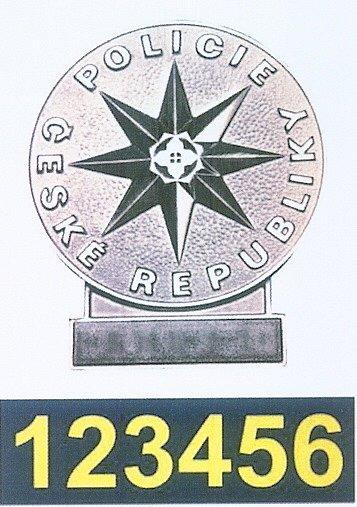 Služební odznak.