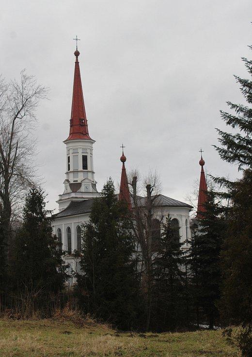 Doubrava. katolický kostel