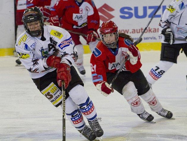 Hokejistky hostí o víkendu mistrovskou Slavii.