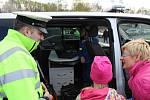 Havířovský BESIP pořádal v úterý odpoledne společně s bezpečnostními složkami a hasiči na dopravním hřišti preventivní akci pro děti.