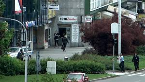 Ozbrojené přepadení směnárny v Havířově