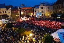Karvinské Masarykovo náměstí v rámci oslav Dnů Karviné - Ilustrační foto.