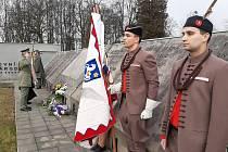 U památníku sedmidenní války v Orlové se v neděli konala vzpomínková akce Od válečného konfliktu mezi Čechy a Poláky uplynulo 101 let.