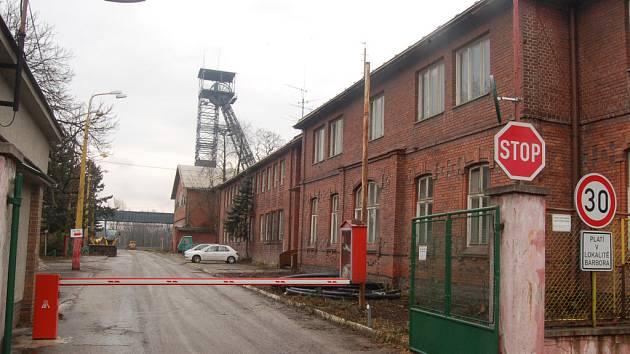 Brána bývalého Dolu Barbora. Plánována je zde stavba spalovny i průmyslové zóny.
