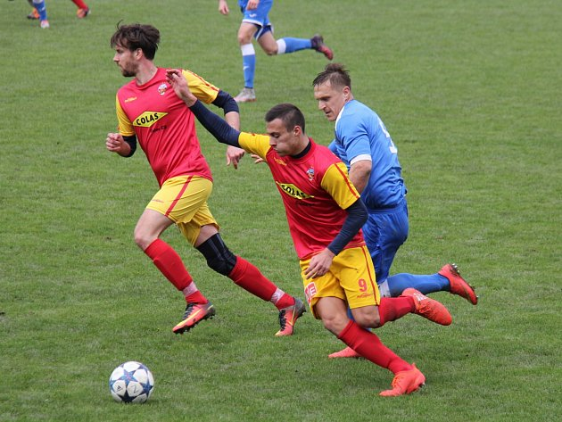 Havířovu se nedařilo a nedal ani gól.