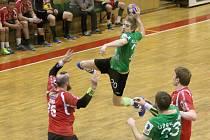 Karvinští házenkáři vedou v sérii nad Zubřím 1:0 na zápasy.