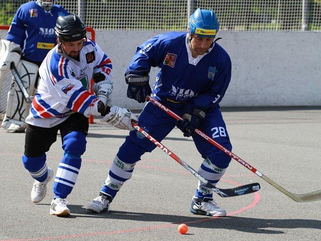 Hokejbalisté Karviné mají za sebou podzimní část.