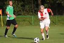 Fotbalisté Orlové (na snímku Mariusz Sobala) se rozešli se Zábřehem smírně.