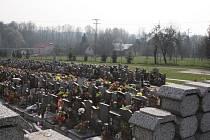 Centrální hřbitov v Havířově.