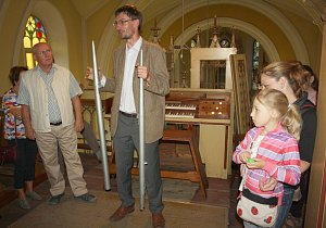 Noc kostelů se letos popáté konala také v Dětmarovicích, v tamním kostele svaté Máří Magdalény.