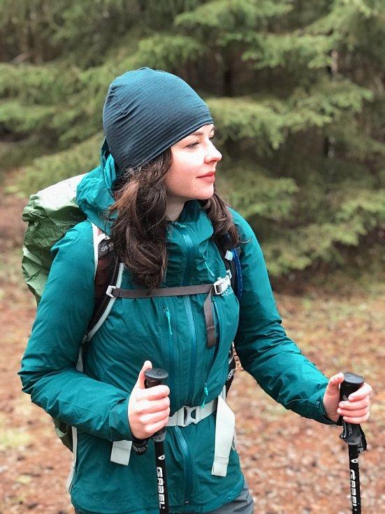 Mladá studentka Nicolette Havlová se v úterý 1. června vydá pěšky z Havířova přes rumunský Banát až do Istanbulu.  Foto se souhlasem N. Havlové