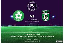 TJ Sokol Věřňovice odehraje v sobotu exhibiční zápas s MFK Karviná v rámci oslav 90. výročí od vzniku klubu.