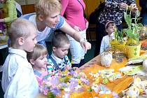 Velikonoční akce pro děti i dospělé se setkala se zájmem.