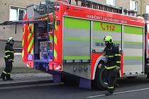 Zásah hasičů u požáru elektroinstalace v domě v ulici U Stromovky v Havířově.