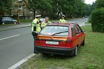 Dopravní akce v ulicích Havířova.