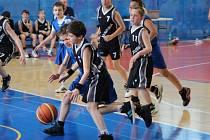 Májový turnaj malých basketbalistů.