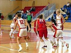 Basketbalistky Havířova si vedou v soutěži zdatně.