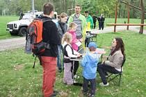 Už pošesté se rodinné týmy vypravily do parku Boženy Němcové a Lázeňského parku v Karviné, aby čelily Nástrahám velkoměsta.