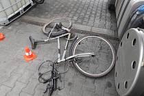 Místo tragické nehody v Bohumíně.
